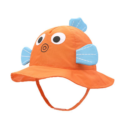 Kaavie cartoon babies flap uv protection cap hat kids sun has children and baby sun hat