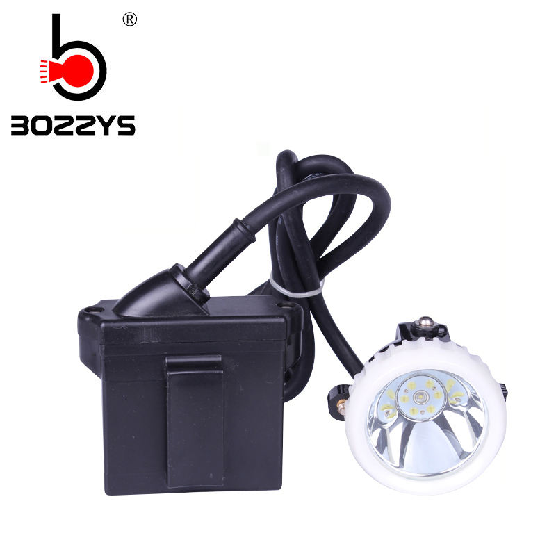 KL5LM Pertambangan Lampu Helm Tanpa Kabel Portable LED Light Mining Lampu Helm