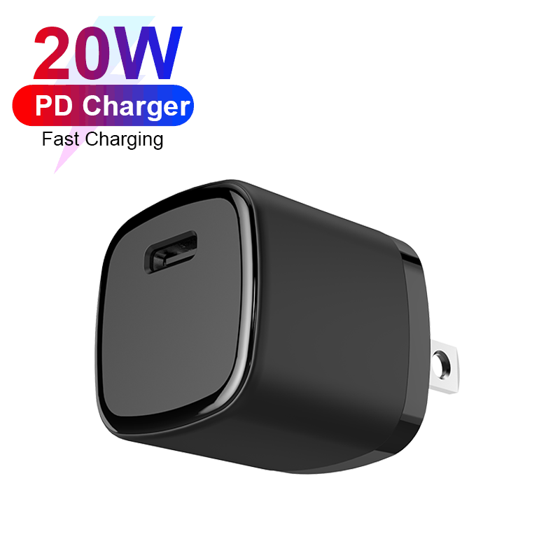 Type-c Port Cell Phone 20W USB-C PD Fast Charger For iPhone 12 Mini Pro Max