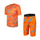 mens short sleeve jersey cycling sets mtb clothing