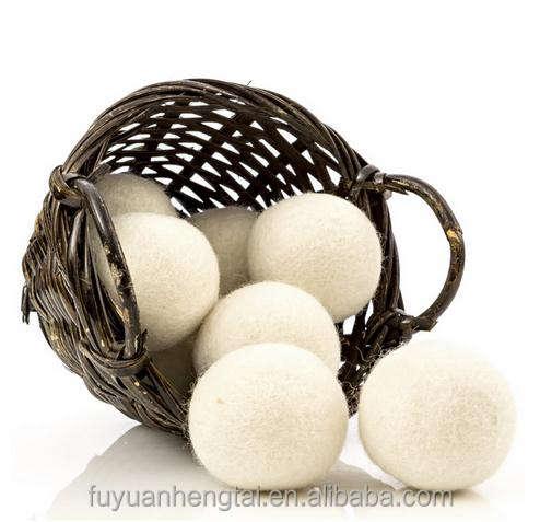 Tamaño personalizado lana secador, ropa suspensión secador, fieltro de lana <span class=keywords><strong>bola</strong></span> viene con alta calidad.