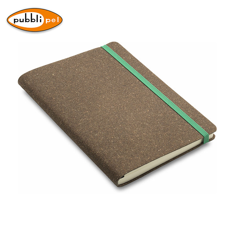 Italy Regenerated Leather Wholesale Notebook High Quality ECO Friendly Notebooks