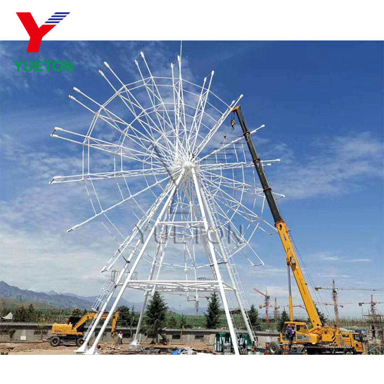 China Manufacturer Prices Attraction Equipment 42m Amusement Park Ride Giant Big Ferris Wheel