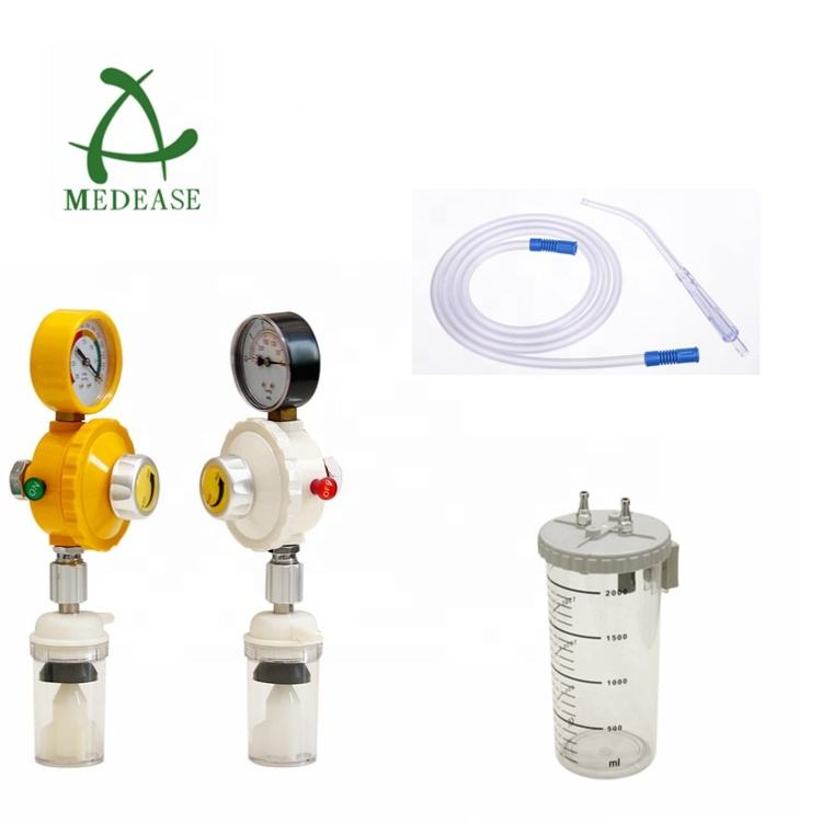 Suction Regulator bottle and hose for suction units