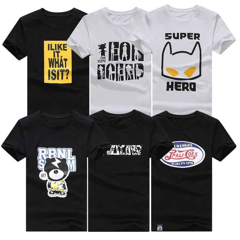 Factory wholesale price custom your own cotton hip hop T shirt printing men's T shirt made in China