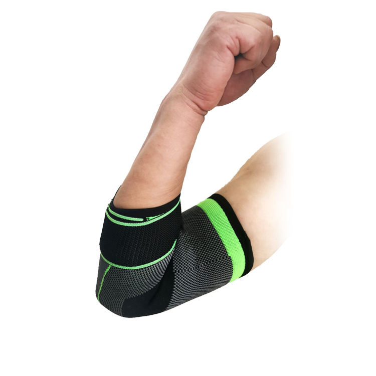 Adjustable Elbow Brace With Straps Elbow Pad Support Nylon Elasticated Compression