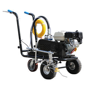 Line Marking Machine for pu Sport Court Single/double Line Road Marking Machine