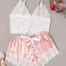 Lace hot open sexy lingeries panties nightwear for women sleepwear