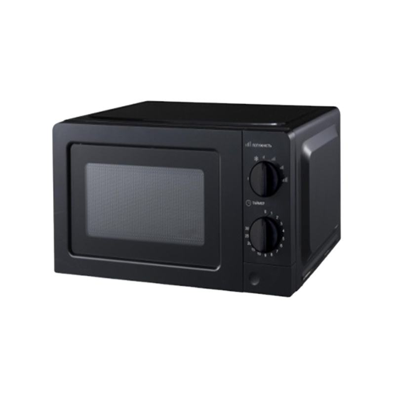 Countertop Mini Mechanical Solo Microwave With Normal Glass Structure