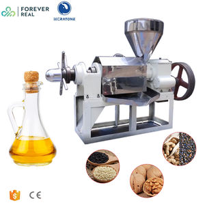 Foreverreal screw coconut oil press machine/Palm kernel oil pressers/peanut oil expeller