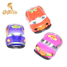 Loose Package Hot Selling Kids Funny Mini Cartoon Pull Back Plastic Car Toy Sale