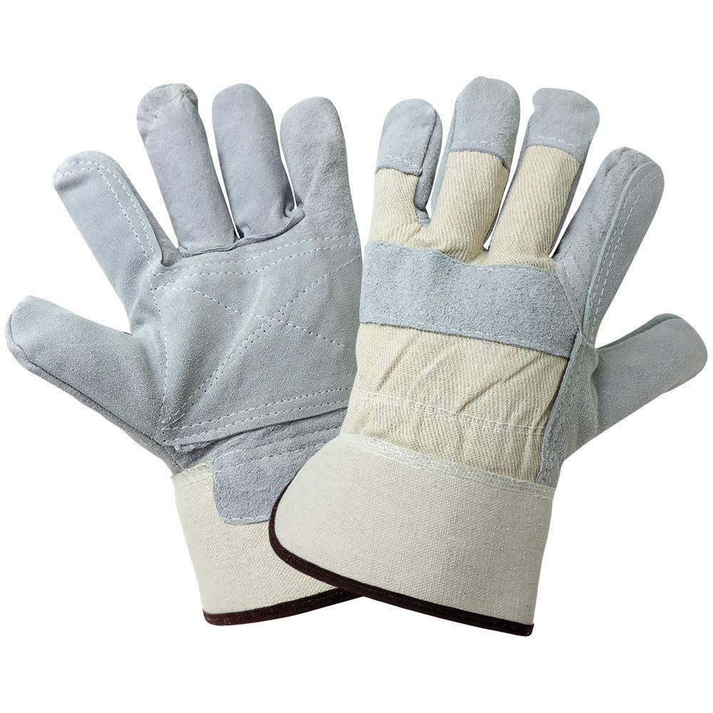 Personal Protective Equipment hot sale on cow split leather working glove