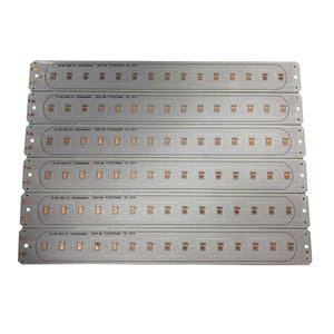 Aluminum PCBs, Customized PCB Bare Board Single Layer for LED Lighting Board