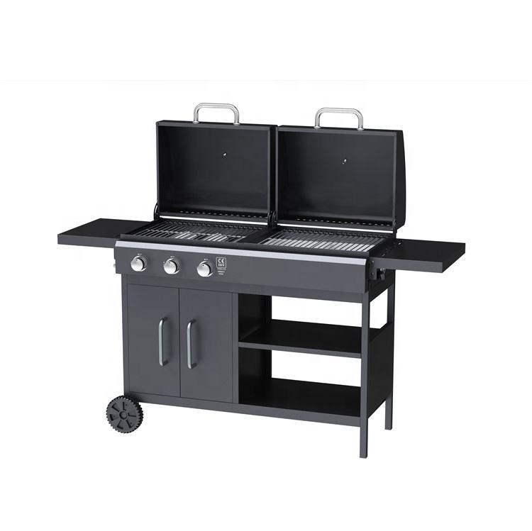 Factory Price Outdoor Best Gas And Charcoal Combination BBQ Grill