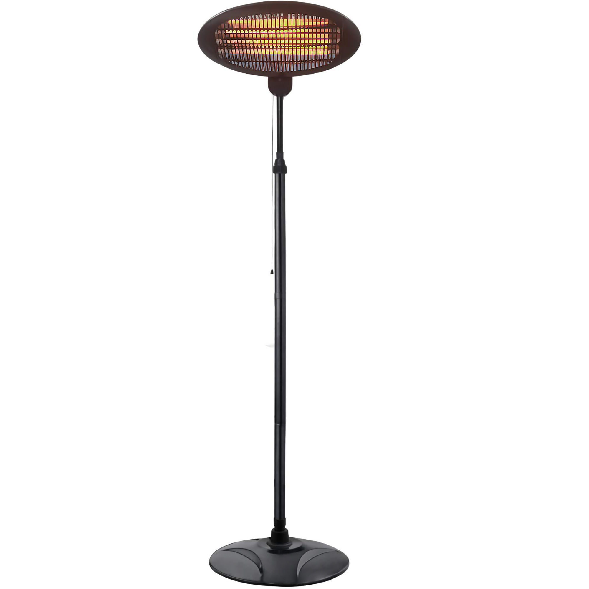 Outdoor Patio Heater、2000W Infrared Halogen Tube Outdoor Garden Electric Ceiling Mounted Patio Heater、Verticaling Mounted Heat