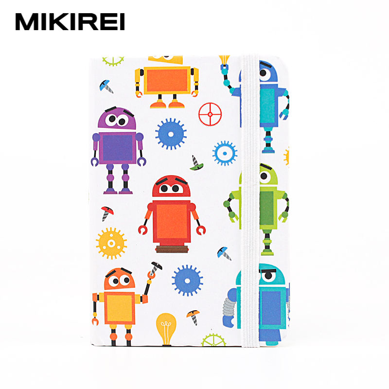 Customise robot Cover Style School Notebooks Exercise Book For Boys