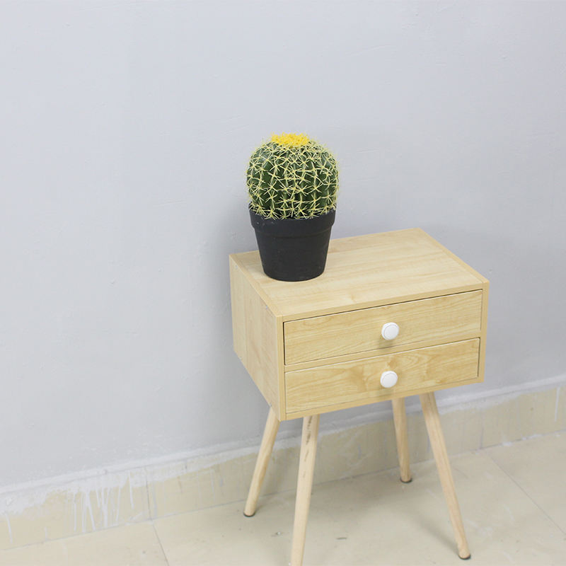 Hot sale desktop artificial potted plants ball cactus plants mini artificial cactus