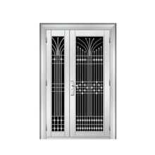 Stainless Steel Storm Security Design Doors Exterior Double Door
