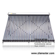 30 tubes heat pipe solar collector