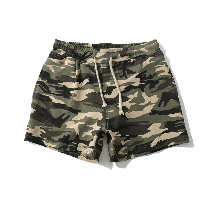 Custom Running Fashion Workout 4 Way Stretch Beach Swim Shorts Camo Short Poly Cotton Shorts Camouflage Mens
