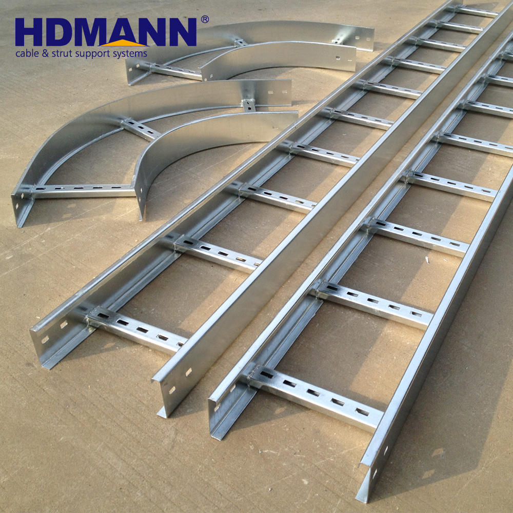 Heavy strong Duty 2.5mm 3mm galvanized cable tray cable ladder