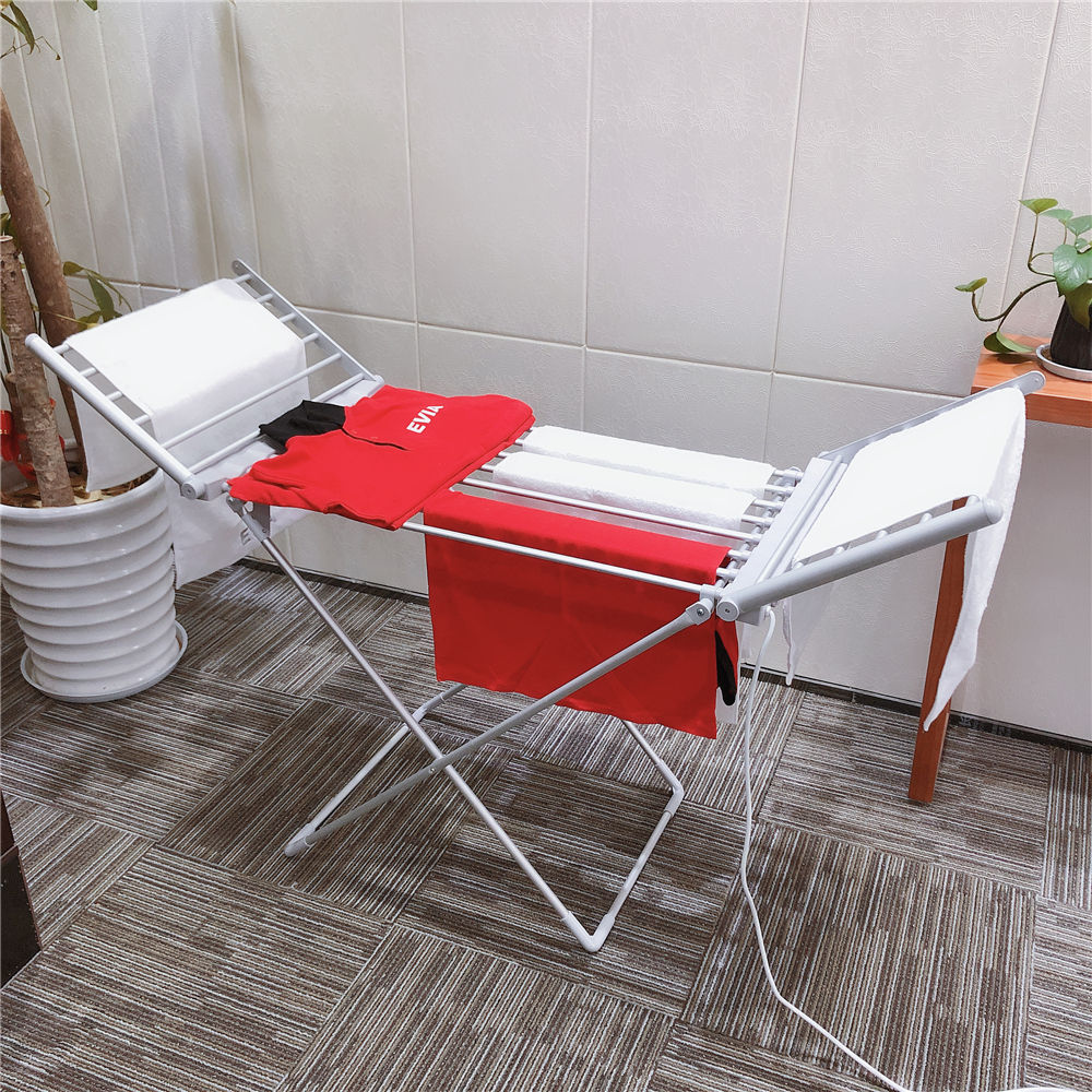 EVIA Household Electric Cloth Dryer Aluminum Heated Clothes Drying Rack