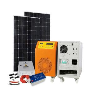 Solar Power System Home 10KW Solar Panel System 10000 Watts / off grid solar kits for home