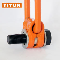 G80 side pull swivel hoist ring from Tianjin YIYUN manufacturer with good price hoist ring unc thread hoist ring