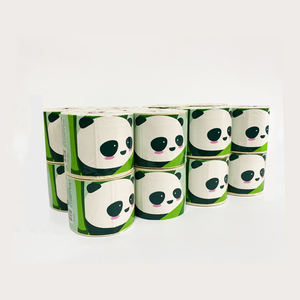 dust free cheap mega 3 ply 24 rolls 900 sheets organic bamboo pulp soft toilet tissue paper roll