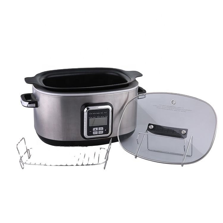 Hot Sale Electric Multi slow Cooker With Non-Stick Coating Inner Pot diswasher safe