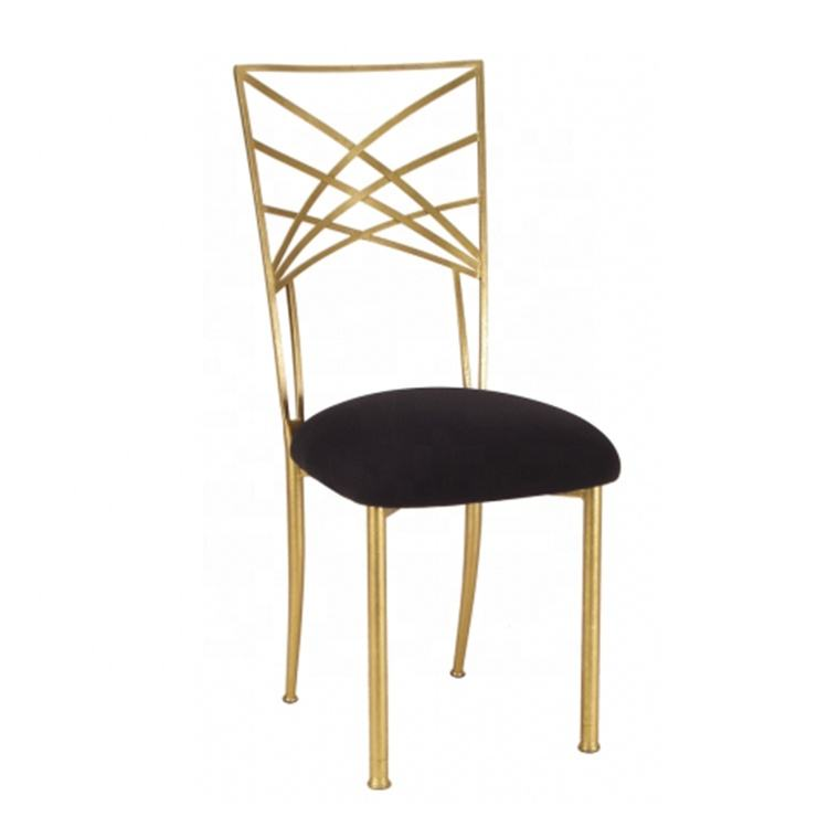 Popular wholesale metal iron gold chameleon chiavari chair for wedding party events