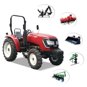 Mini Tractor front end 10hp 25 hp 60hp 100hp loader compact farm tractor machine earth work mini farm garden tractors price