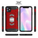 magnetic luxury tpu pc dual layer hybrid shockproof sublimation armor style design custom phone case with card slot for iphone11