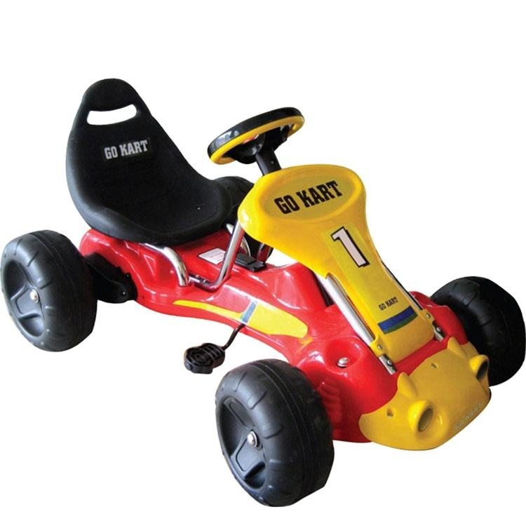 High Quality outdoor kids Racing Go Kart kids Pedal Go Cart with battery electric vehicle
