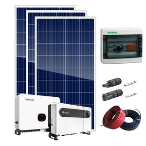 SUNKET 10 KW Sistema Solare A Casa 10000 W Kit di Pannelli Solari Made in China