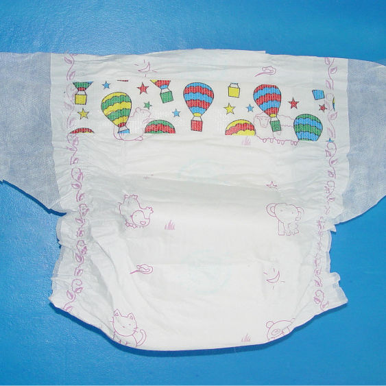 A Grade Shanghai European Supplies Disposable Baby Diapers