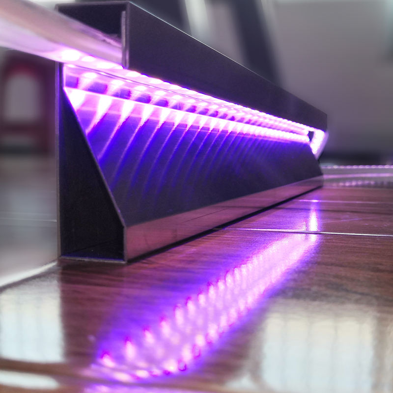 Stainless Steel Tiles Border Strip Led Skirting Light Decorative Beaded Fringe Trimming