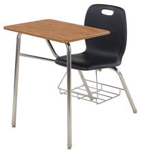 school furniture single desk set student study table and chair