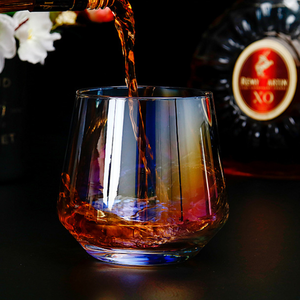 Custom Zeven Kleuren Whisky Glas Party Glas Bar Whiskey Glazen Drinkglazen Whisky Glas