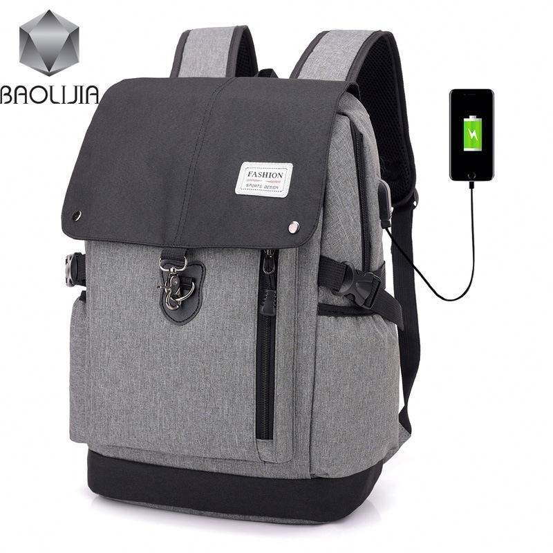 polyester material large capacity leisure business bag for 14 and 15.6 inch laptop backpack