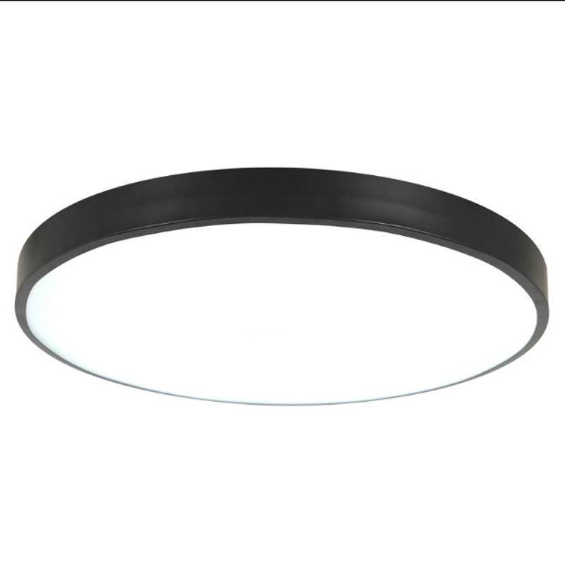 Smart Modern Surface Mounted Bedroom Living Room Light Nordic Round Pink Black Ceiling Light Led Ceiling Lamp Led Ceiling Light