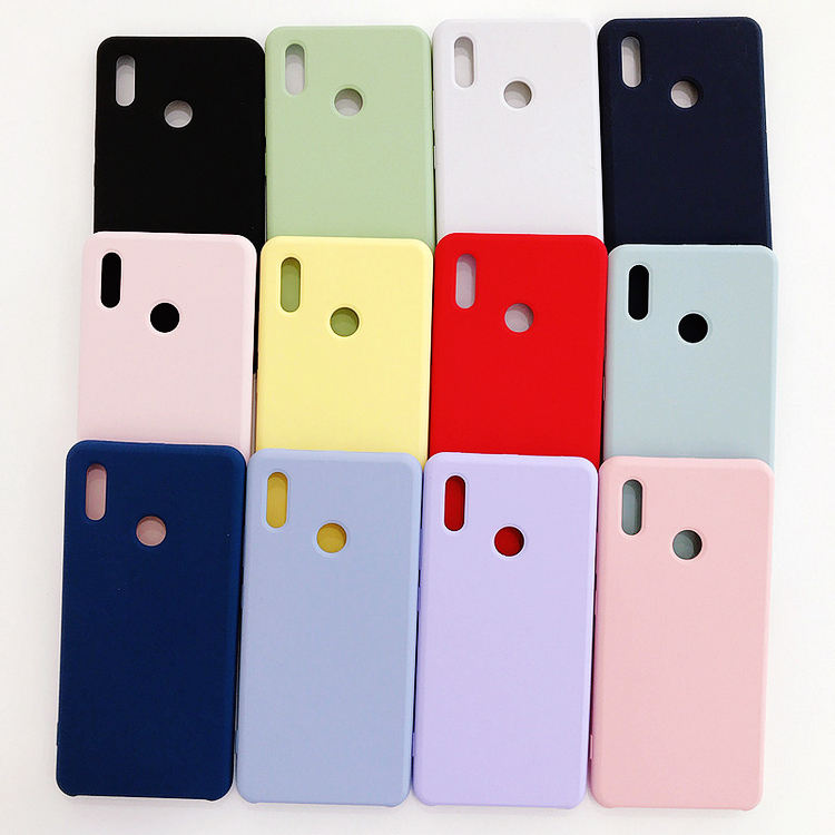 Factory price scratch proof microfiber liquid silicone mobile cell phone case for iphone 11 x xr 6 7 8 plus
