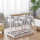 Multifunctional Shelf Kitchen Countertop Wine Glass Drying Holder Cup Rack Storage Organizer Storageholders