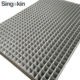 hot dipped galvanized 8x4ft metal rigid flat welded wire mesh sheet panels for machine protection areas
