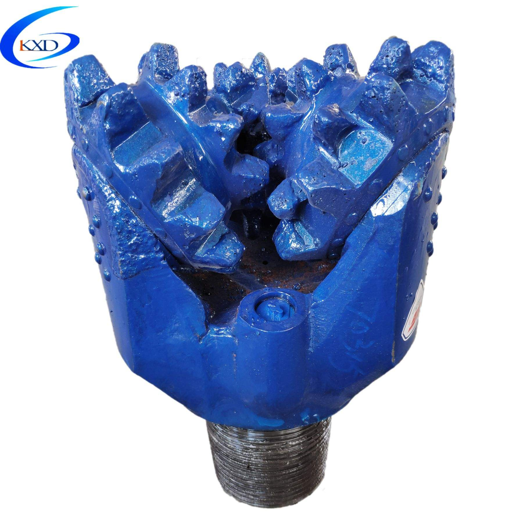 "IADC117 12 1/4"" steel tooth tricone drill bit for water well drilling"