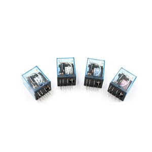 MY2P HH52P MY2NJ Relay Coil General DPDT Micro Mini Electromagnetic Relay Switch with LED AC 110V 220V DC 12V 24V