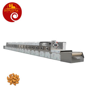 Automatic Fruit Nuts Dryer Red Dates Microwave Drying Machine