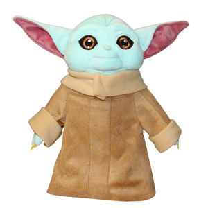 2020 Hot Sale Soft Baby Plush Stuffed 20cm green Yoda Baby children Doll plush toy