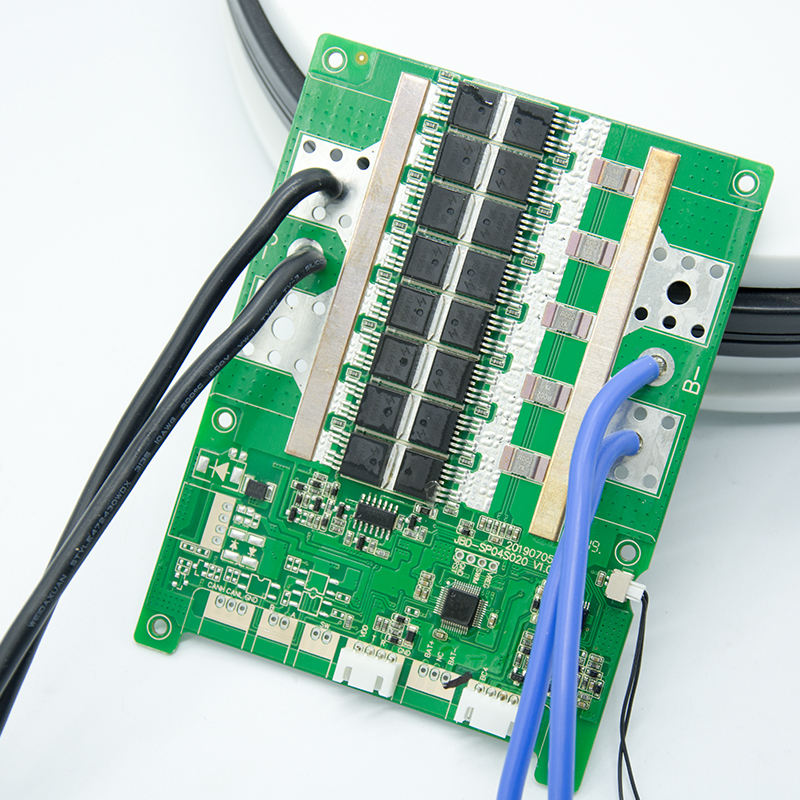 Smart Motor Bms Met Communicatie Kan 12V Smart Bms 4S Lifepo4 120a Batterij Oplader Board Bms