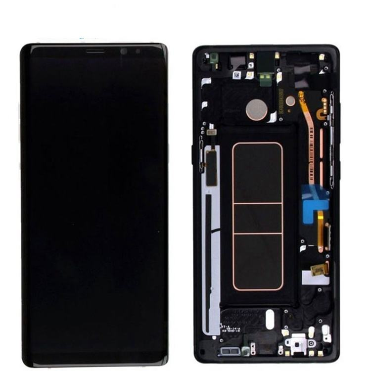 For Samsung Galaxy Note 8 N950F Lcd Screen Display Oem Touch Digitizer Spare Parts Assembly Replacement